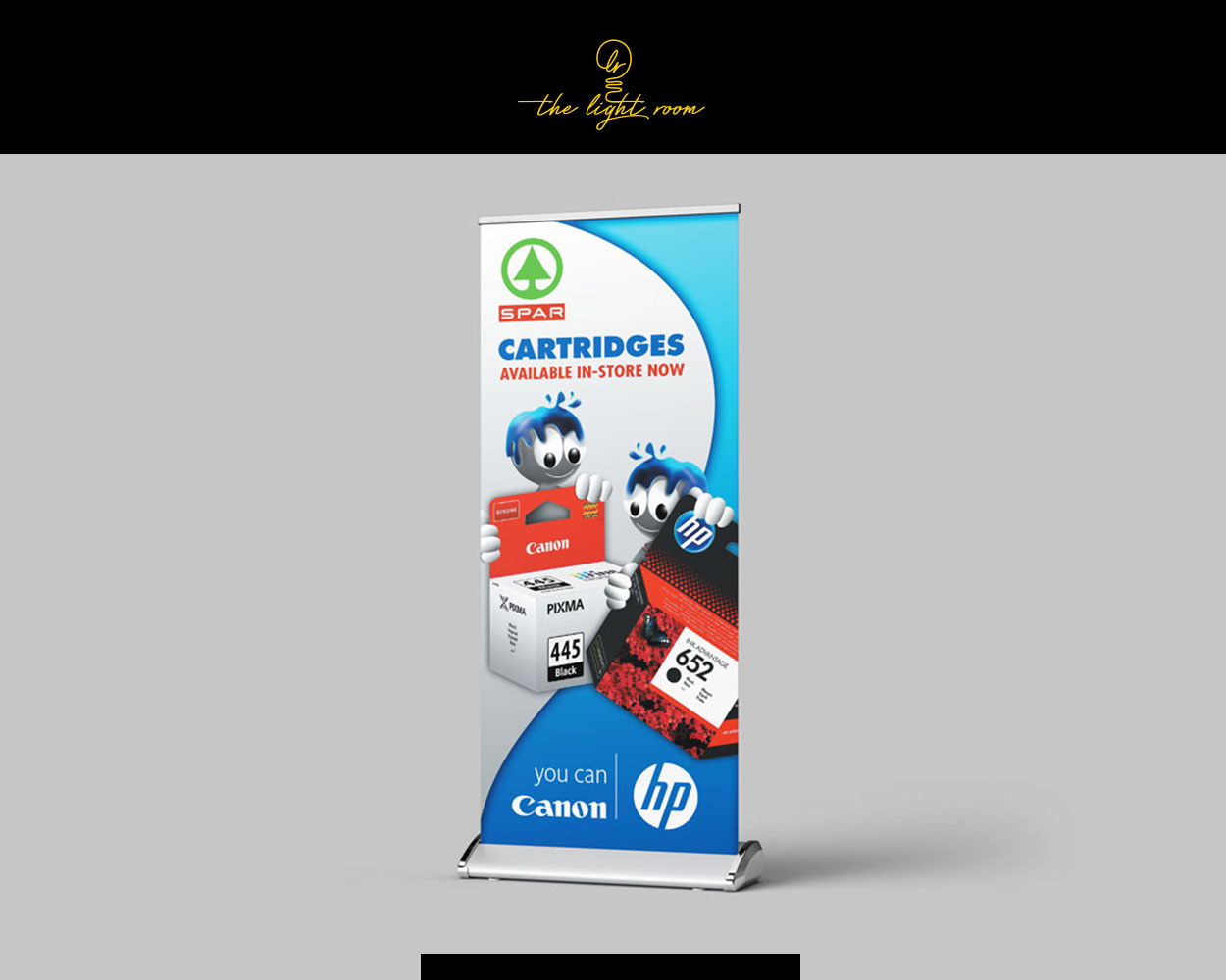 JAYED Pull-up banner